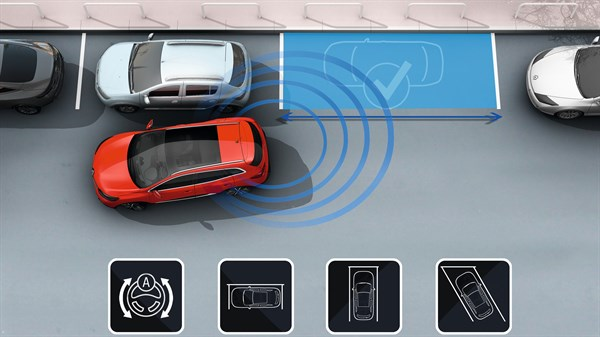 Renault KADJAR - Pack Easy Park Assist