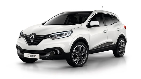 Renault KADJAR - White vehicle on transparent background