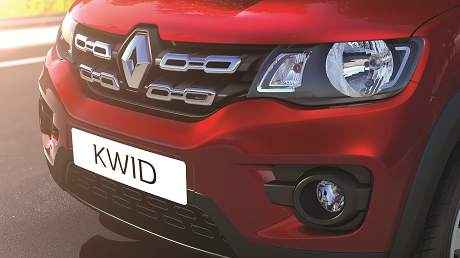 Kwid Grille Insert Chrome
