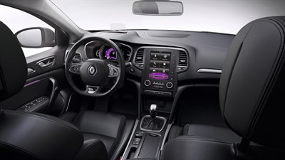 Renault MEGANE Sedan - Interior design